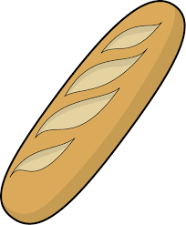 french bread clipart. Modren French French Bread Baguette Clipart 1 Intended N