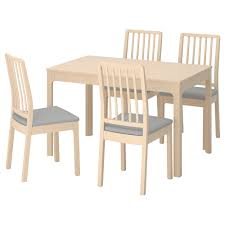 Ikea dining room chairs Kitchen Chairs Ikea Ekedalenekedalen Table And Chairs Ikea Dining Table Sets Dining Room Sets Ikea