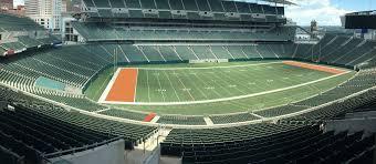 Kyle Field 3d Seating Chart Paul Brown Stadium Seating Chart Map Seatgeek