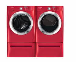 affinity washer and dryer.  Washer Frigidaire Affinity Red 38 CF Front Load Steam Washer U0026 70 Dryer  With Pedestals For And