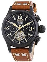 amazon co uk ingersoll watches ingersoll bison no 18 in4506bbk chronograph xl men s self winding watch