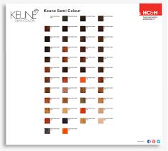 Keune Red Hair Color Chart Keune Semi Color Shades In 2019 Cellophane Hair Color
