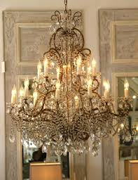 italian chandeliers style pair of glass chandeliers