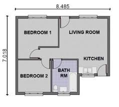 Small Picture Simple House Designs 2 Bedrooms Bedroom Design