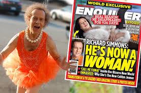 richard simmons woman. richard-simmons-transition-male-female-surgery-pp richard simmons woman i