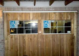 Homemade Carriage House Garage Doors