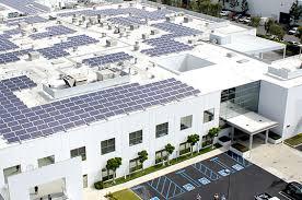 Industrial Solar Panels  Power Systems Blue Oak Energy - Home solar power system design
