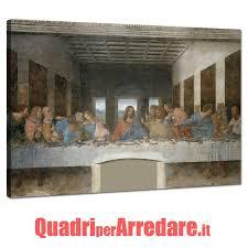 Quadro Ultima Cena Leonardo Da Vinci | QuadriperArredare.it | Ultima cena,  Leonardo da vinci, Stanza di bambino
