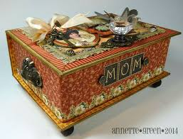 Decorating Cigar Boxes 100 best Cigar Boxes images on Pinterest Decorated boxes 5