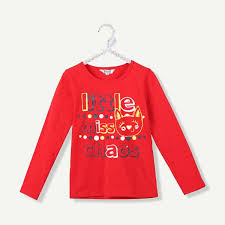 Kanz Little Miss Chaos Red Shirt