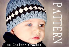 Childrens Crochet Hat Patterns Unique How To Make Newborn Baby Boy Hats Etsy