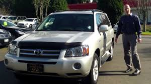 2006 Toyota Highlander Hybrid review- In 3 minutes you'll be an ...