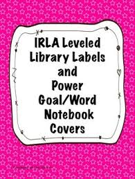 Star Themed Color Coded Irla Library Labels For All The