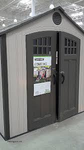 brighton lifetime storage shed reviews