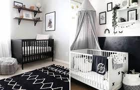 Um quarto de bebê preto e branco é supermoderno. Quarto De Bebe Preto Composicao Surpreendente Westwing