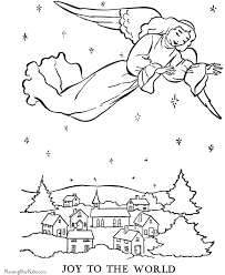 Small Picture Angel coloring page The Christmas Story