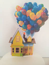 Up House Balloons How To Make Cake Topper For Disney Up Movie Balloon Cake Cake