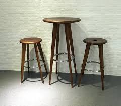 wooden bar table high hire sydney