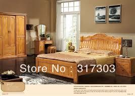 modern wood bedroom furniture. factory wholesale solid oak wood double bed modern design bedroom furniture r