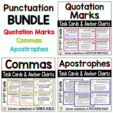 Punctuation Practice Activities Bundle Commas Quotation Marks Apostrophes