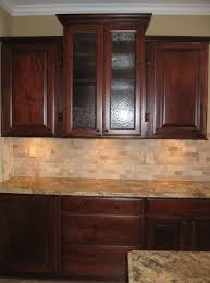 textured backsplash panels. Wonderful Backsplash Custom Home Kitchen Wood Cabinets W Textured Glass Panel Inserts  Mosaic Tile Backsplash Granite Countertops Indianapolis Indiana  Similar To  In Backsplash Panels K