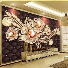 Beibehang Aangepaste Behang 3d Foto Muurschilderingen Zwart