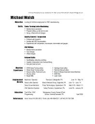 Machinist Resume Template Machinist Resume Template For Cnc collaborativenation 12