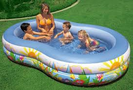 intex swimming pool for kids. Simple For INTEX Swim Center Inflatable Paradise Seaside Kids Swimming Pool  56490 To Intex For E