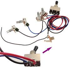 guitar wiring harness way switch guitar wiring diagrams online description guitar wiring harness kit 2v2t 3 way toggle switch for gibson les paul lp box