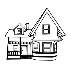 Coloring Page House Free Printable House Coloring Pages For Kids ...