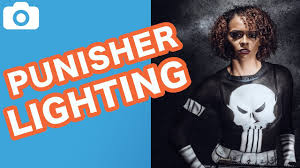 photography lighting tutorial badass punisher paint