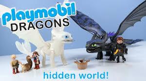 How To Train Your Dragon 3 Playmobil Light Fury Playmobil Dragons Toothless And Light Fury Toys Unboxing 2019