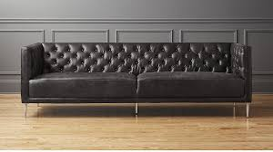 black leather couch. Black Leather Couch E