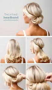 Jednoduché účesy Pro Středně Dlouhé Vlasy