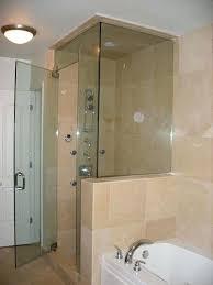frameless glass shower enclosures shower door advanced glass pro frameless sliding glass shower doors cost