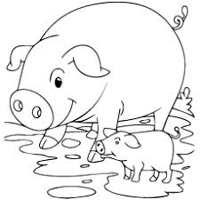 Small Picture Top 20 Free Printable Pig Coloring Pages Online