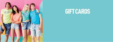 aeropostale gift card banner