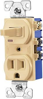 cooper wiring devices v sp l single pole toggle combination cooper wiring devices 274v sp l single pole toggle combination switch receptacle