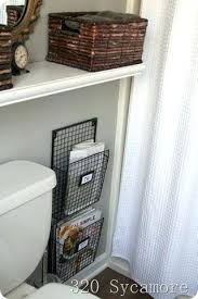 wall mount magazine rack toilet.  Magazine Magazine Rack For Bathrooms Free Up Bathroom Floor Space By Mounting The  Holder Next To   In Wall Mount Magazine Rack Toilet L