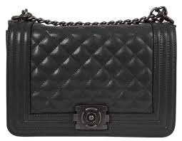 Buy Beaute Bags Box Bag 100% Genuine Leather Flap Handbag. Quilted ... & Buy Beaute Bags Box Bag 100% Genuine Leather Flap Handbag. Quilted leather bag  chain style purse. Iconic shoulder bag with adjustable straps. Adamdwight.com
