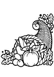 Kleurplaat Thanksgiving Mand Afb 12825 Images