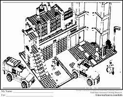 Coloriage Lego Police Beau Custom Rebuild Of Lego City Pizza Van Set