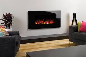 gazco studio electric 2 glass wall mounted fire