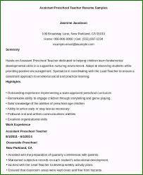 Assistant Teacher Resume Samples Teacher Assistant Resume Amazing 23 Professional Teacher