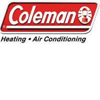 coleman ac logo. coleman gas furnaces ac logo