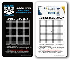 Amsler Grid Test Magnet