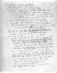 john keats original manuscripts of poetry letters to autumn first page second page