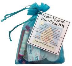 Image Is Loading New Home Survival Kit Housewarming Gift Unusual  Alternative