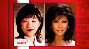 after admitting on the talk last week to undergoing eye enlargement surgery at the behest of a dayton ohio tv studio back in 95 julie chen has