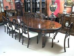 antique dining room chairs large round dining table seats large round dining table seats antique dining
